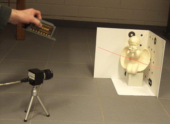 Как сделать 3в сканер